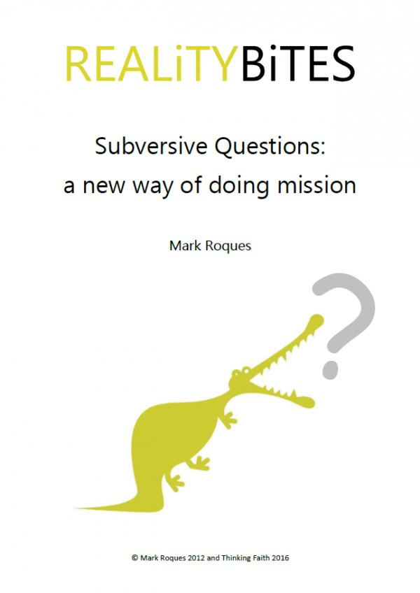 Reality Bites - Subversive Questions cover