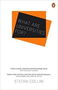 What are Universities for? - book cover