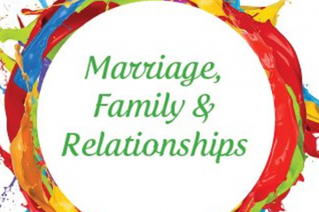 Marriage, Family & Relationship Title Page
