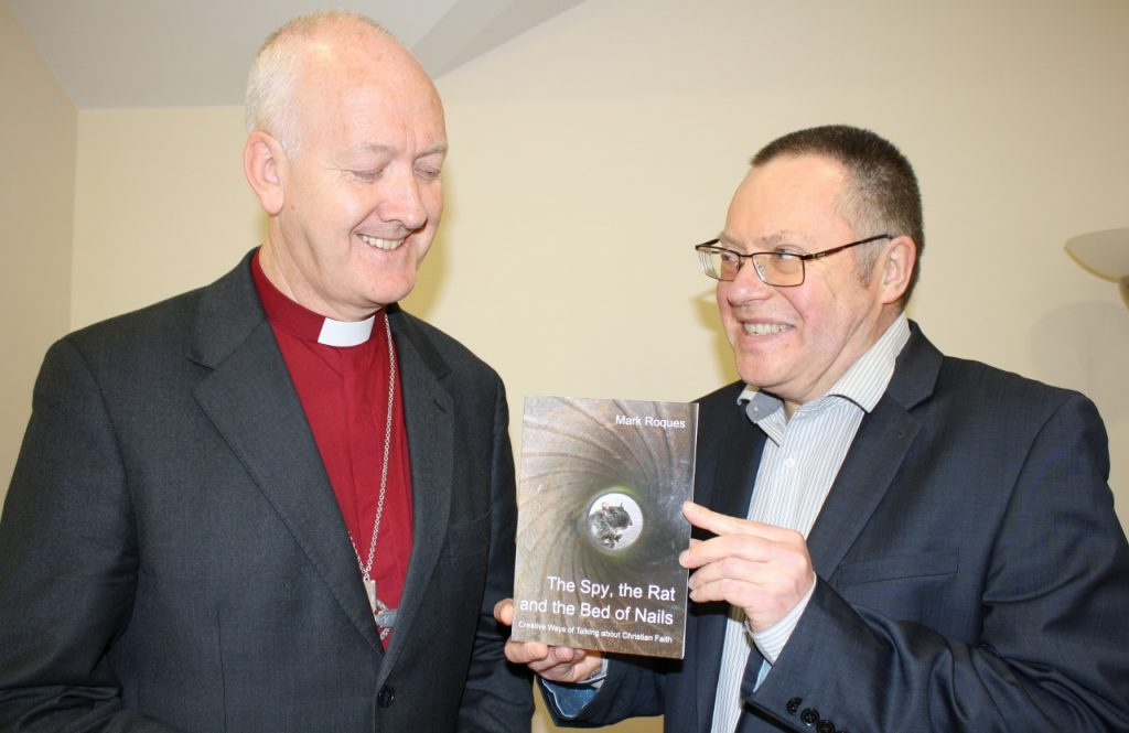 Bishop Nick and Mark Roques