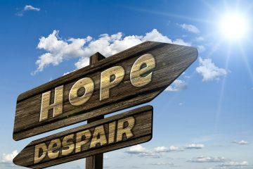 Hope and Despair signpost
