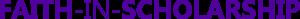 Faith-in-Scholarship logo