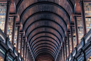 Vaulted library