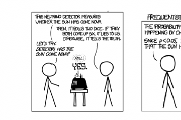 XKCD cartoon - Frequentist Bayesian